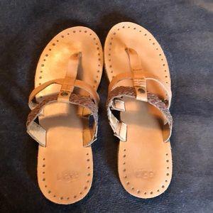 Ugh t strap sandals